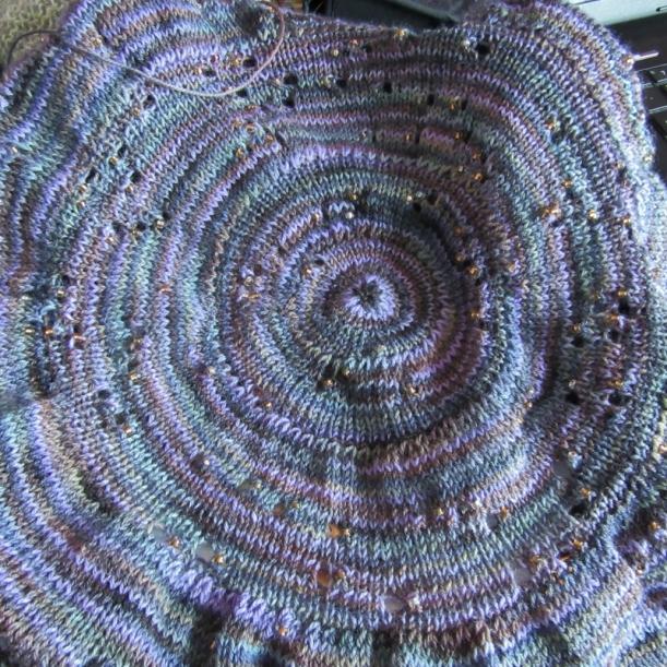 Southern skies shawl